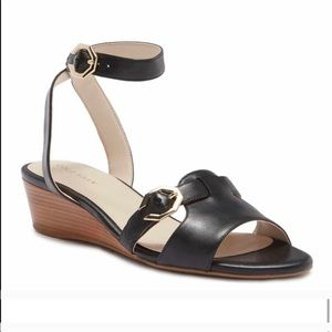 Cole Haan Terrin Ankle Strap Wedge Sandals